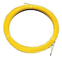 Протяжка кабельная (мини УЗК в бухте), 5м, стеклопруток, d=4мм, латунный наконечник, заглушка.