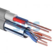 Мульти-кабель FTP 4PR 24AWG CAT5e + 2х0.75мм., 200м., серый REXANT