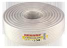Коаксиальный кабель RG-6U+CU.75 Oм.100m.Цвет-Белый.Rexant (Медь)