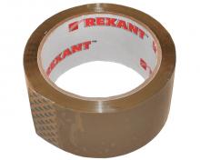 Скотч упаковочный 48мм x 66м., 50мкм, коричневый REXANT