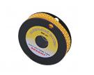 Маркер кабельный 0-9 комплект 10 роликов (от 3.6 до 7.4 мм) REXANT